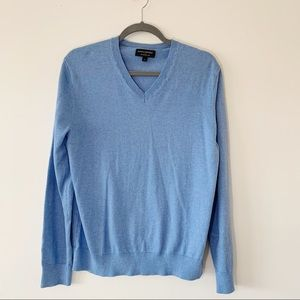 Banana Republic Premium Luxe Yarn Sky Blue Sweater
